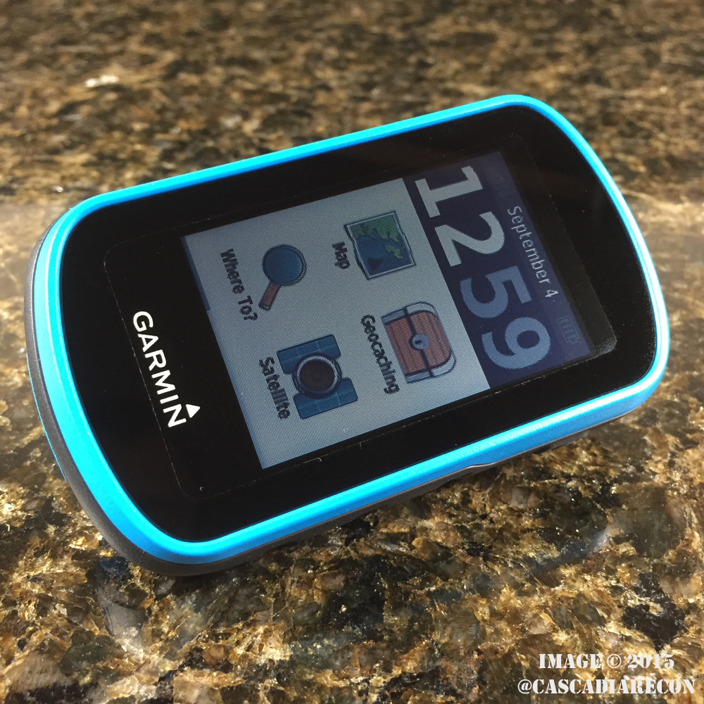 First Impressions / Mini Review: Garmin eTrex Touch 25 GPS